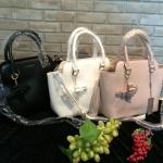 กระเป๋าแฟชั่น CHARLES & KEITH TOP HANDLE CITY BAG มี 3 สี สีดำ สีขาว สีนู๊ด