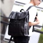 พร้อมส่ง กระเป๋าเป้สะพายหลัง เป้เดินทาง ใส่tab ผู้ชายแฟขั่นเกาหลี รหัส Man-9020 สีดำ 1 ใบ