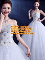 ชุดแต่งงานราคาถูก กระโปรงสุ่ม ws-068 pre-order
