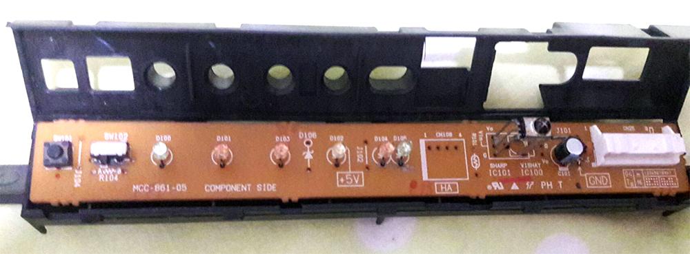 แผงรับสัญญาณรีโมท RAS-10UKPX3-T2