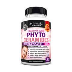 Phytoceramides 350 mg with Biotin 5000 mcg ,Swartz Bioresearch