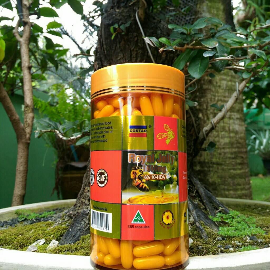 Costar Royal jelly นมผึ้งความเข้มข้นสูง 6% 10 - HDA 1610 mg