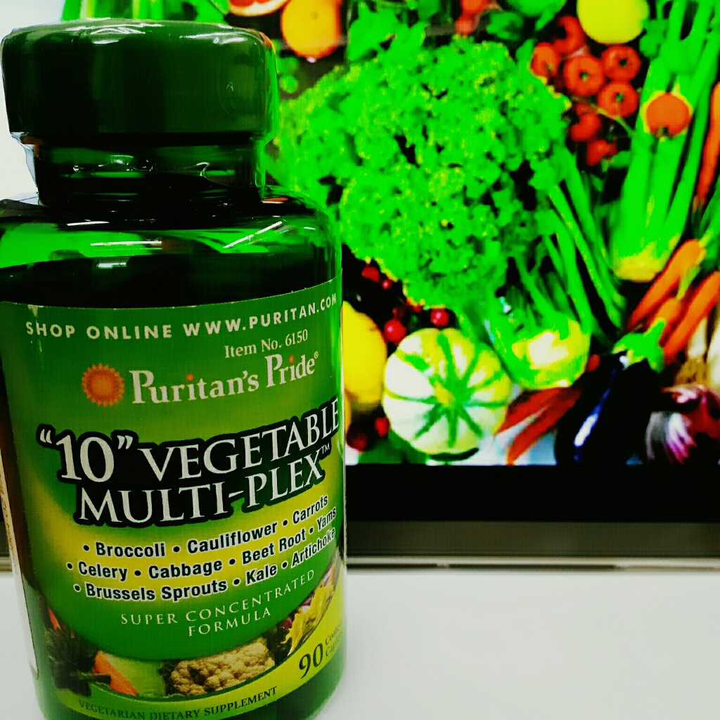 10 Vegetables Multiplex สารสกัดจากผัก10 ชนิด บำรุงสุขภาพ ป้องกันโรค