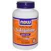 L-ARGININE, NOW 1000 mg,120 tablet กรดอะมิโน แอลอาร์จีนีน