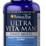 ULTRA VITA MAN, Puritan's Pride วิตามินรวมสำหรับผู้ชาย