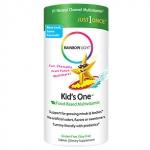 วิตามินสำหรับเด็ก Rainbow Light, Kid's One, MultiStars, Food-Based Multivitamin, Fruit Punch, 30 Chewable Tablets