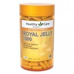 นมผึ้ง Healthy Care Royal Jelly 1000 mg จำนวน 365 แคปซูล นมผึ้งแท้ นำเข้าจากออสเตรเลีย