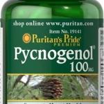 Pycnogenol เปลือกสนสกัดเข้มข้น 100 มก Puritan's Pride