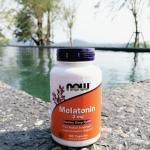 melatonin 3 mg / 180 tab เมลาโทนิน วิตามินช่วยการนอนหลับ