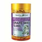 สารสกัดเมล็ดองุ่น Grapeseed Healthy Care 12000 mg , 300 capsules