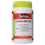 Liver Detox Swisse ดีทอกซ์ตับ กำจัดสารพิษ ฟื้นฟูระบบย่อยอาหาร