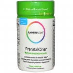 อาหารเสริมสำหรับสตรีตั้งครรภ์ เพียงวันละหนึ่งเม็ด Rainbow Light, Just Once, Prenatal One, Food-Based Multivitamin, 30 Tablets