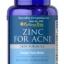 ซิงค์ วิตามินรวมเพื่อรักษาสิว Zinc for acne Puritan's Pride thumbnail 1