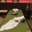 ผ้าปูนวดไทย สีเขียว thumbnail 1