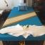 ผ้าปูนวดไทย สีฟ้า thumbnail 1