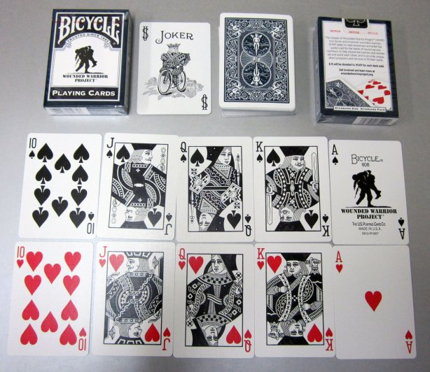 bicycle wounded warrior playing cards off 63% - medpharmres.com